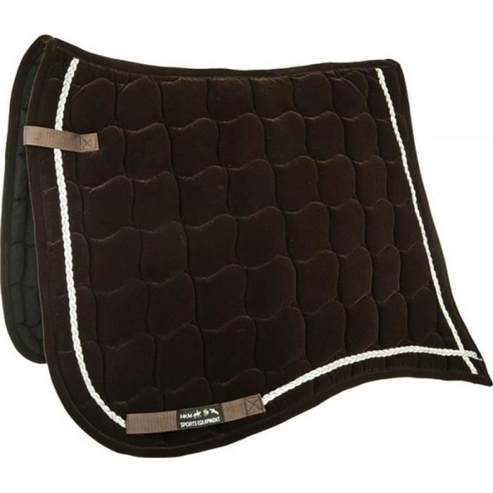 TAPIS DE SELLE VELOURS ANTIK CSO - CHEVAL - MARRON - Achat / Vente ...