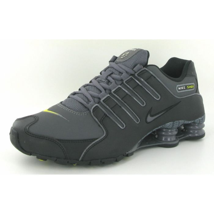 promo code how to buy low price Chaussures Nike Shox NZ EU Noir Noir - Achat / Vente basket ...