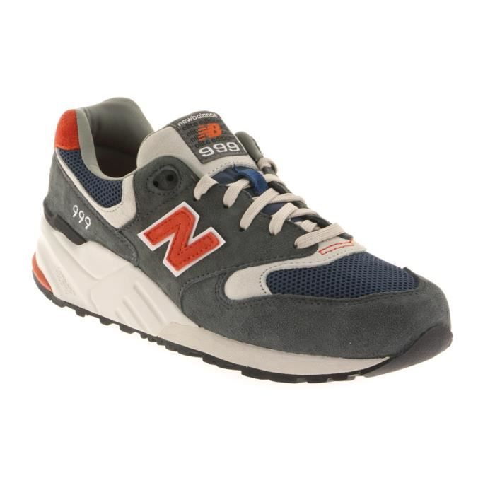 new balance ml999 gris rouge