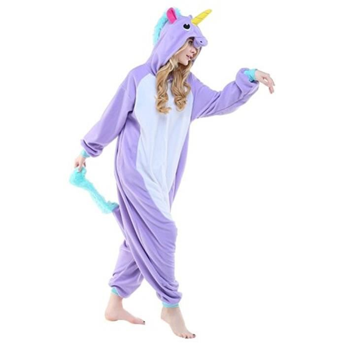 pyjama licorne violet achat vente pyjama licorne violet pas cher cdiscount. Black Bedroom Furniture Sets. Home Design Ideas