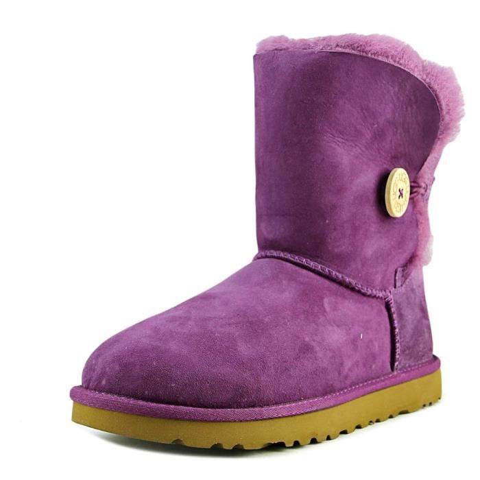 Australia Bailey D'hiver Rouge Button Daim Botte Ugg cTFKJul513