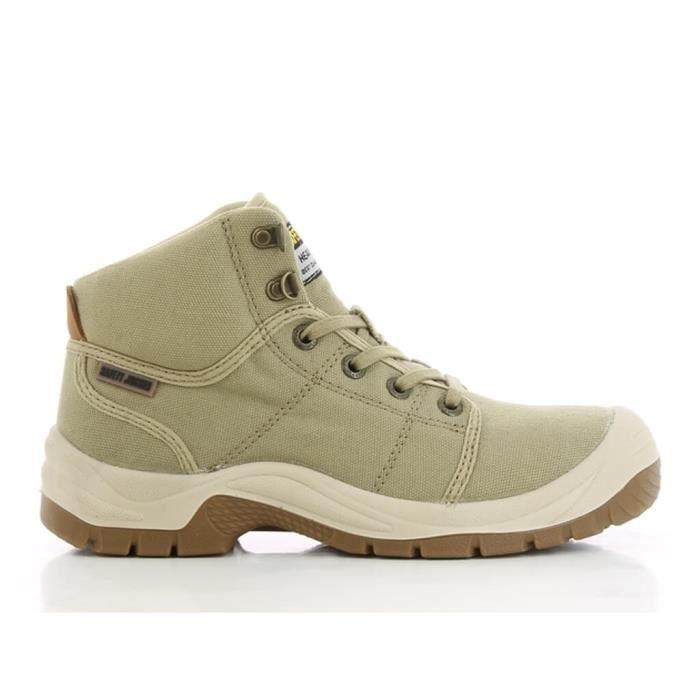 Homme Safety Desert Chaussures Sable De Sp1 Sécurité Jogger tChQrdsx