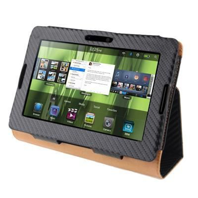 Housse blackberry playbook carbonne noir achat vente for Housse blackberry