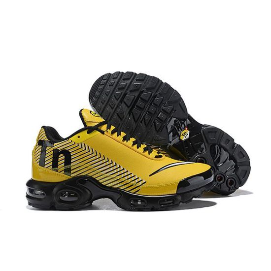 Nike Air Max Plus Tn Chaussure pour Homme Jaune - Cdiscount Chaussures