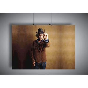 AFFICHE - POSTER Poster Johnny Depp Acteur hollywood wall art - A4