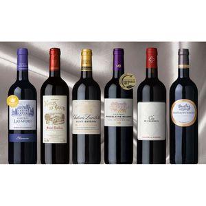 VIN ROUGE Carton Composé Bordeaux Séduction - 6bt vin rouge