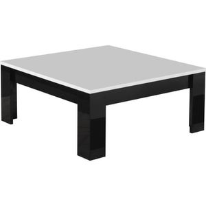 table basse carree noir achat vente table basse carree noir pas cher cdiscount. Black Bedroom Furniture Sets. Home Design Ideas