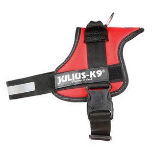 HARNAIS ANIMAL Julius-K9, 162R0, Powerharness, Taille: 0, Rouge