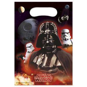 ACCESSOIRE DÉGUISEMENT 6 Sacs cadeaux Star Wars - 227601 (Taille Unique)