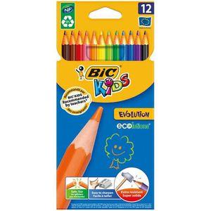 Stylo - Parure BIC® Kids - Crayons de couleur BIC® Kids Evolution