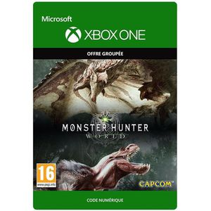 JEU XBOX ONE À TÉLÉCHARGER Monster Hunter World Edition Deluxe Jeu Xbox One à