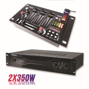 TABLE DE MIXAGE Pack sonorisation amplificateur 700W SA1000 + Tabl