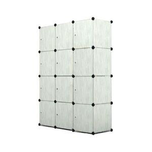 MEUBLE CLASSEMENT MCTECH Armoire Penderie Storage Dossier 12 Cube Cl