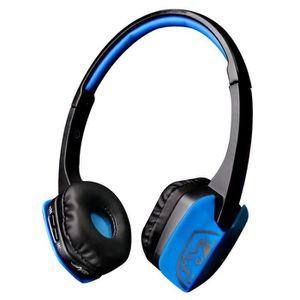CASQUE AVEC MICROPHONE SADES D201 Casque Gaming, Gamer Headphone Headset