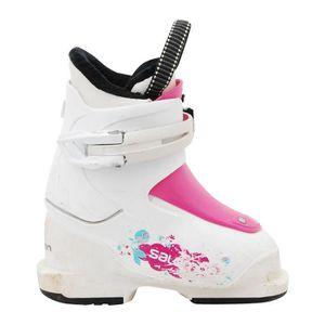 CHAUSSURES DE SKI Chaussure de ski Junior Salomon JT1 blanc
