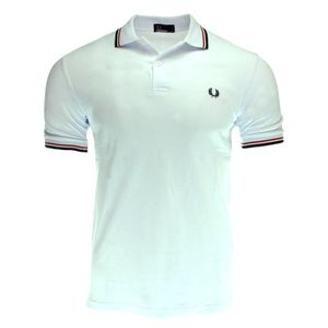 POLO POLO FRED PERRY BLANC