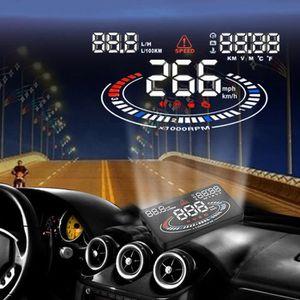 AFFICHAGE PARE-BRISE Compteur vitesse autonome GPS de vitesse avertisse