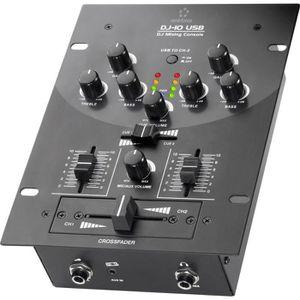 TABLE DE MIXAGE Tables de mixage DJ Renkforce DJ10+USB DJ10+USB