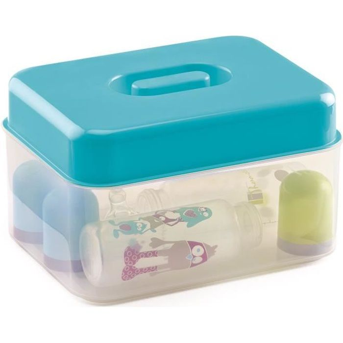 THERMOBABY Stérilisateur Double Usage Turquoise