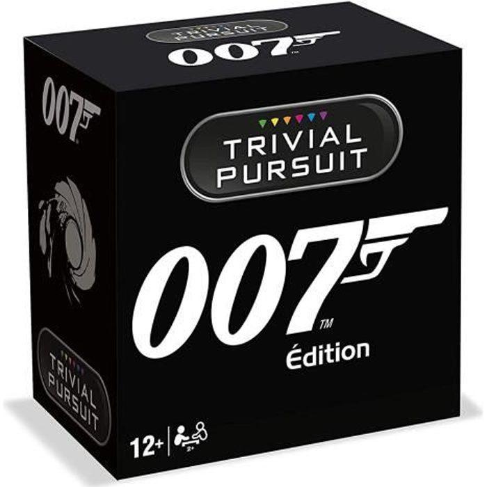 TRIVIAL PURSUIT - James Bond - Format de voyage 600 questions - Jeu de societé - Version française