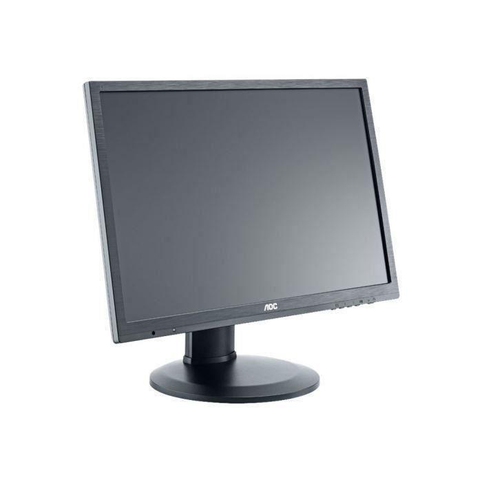 AOC Ecran E2460PDA - 22- FHD - 1920x1080 - Dalle TN - 250 cd/m² - 5ms - DVI-D / VGA