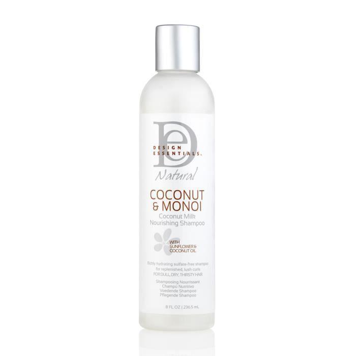 Design Essentials Coconut & Monoi Nourishing Shampoo - Shampoing nourissant
