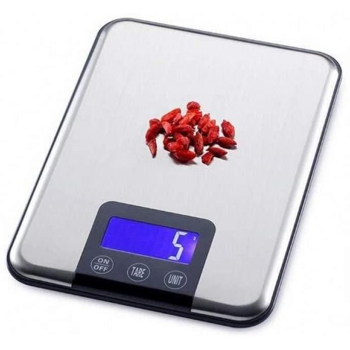 Pèse-personne mécaniques NMDCDH Balance de Cuisine à écran Tactile 15Kg Big Food Diet Balance Poids Slim en Acier Inoxyd 645075