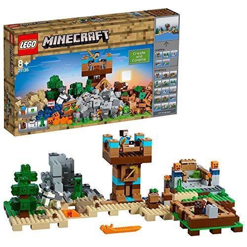 LEGO Minecraft - La boîte de construction 2.0 - 21135 - Jeu de Construction 21135