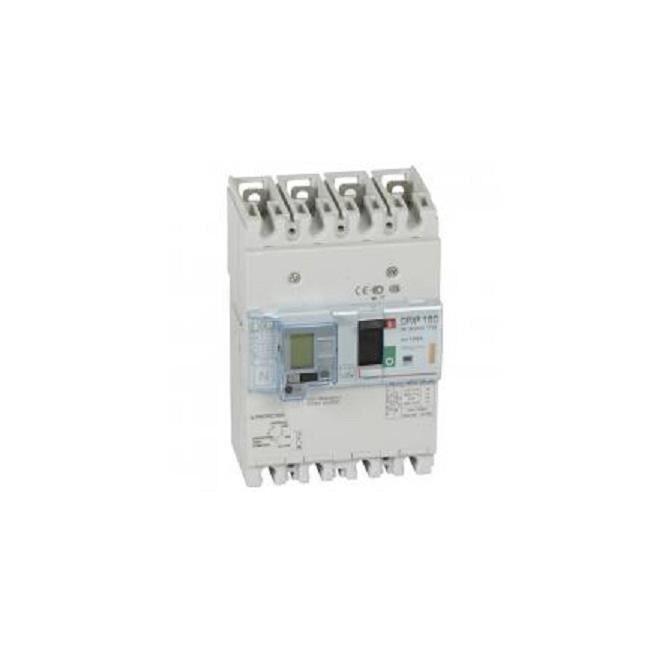 Legrand 025196 - Disjoncteur puissance DPX 160 AB - magnéto-thermique - 4P 160A 25kA