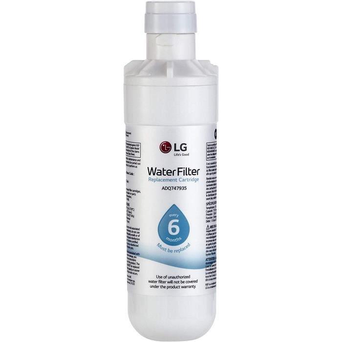 LG LT1000P ADQ74793501 vertical réfrigérateur filtre à eau