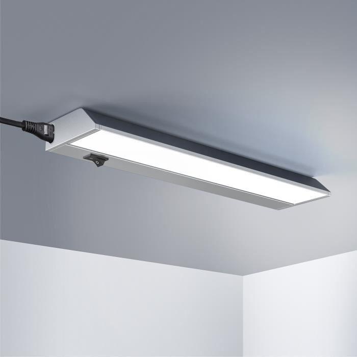 Réglette lumineuse orientable à LED 5W • blanc neutre • 351x75x35mm • modèle M-Keittiö- • barre lumineuse • plafonnier cuisine