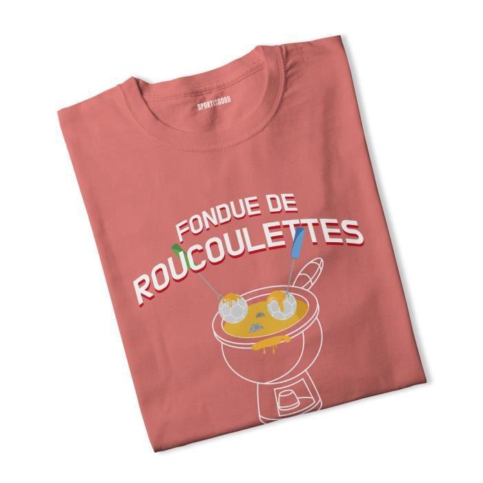 T-shirt femme Fondue de Roucoulettes