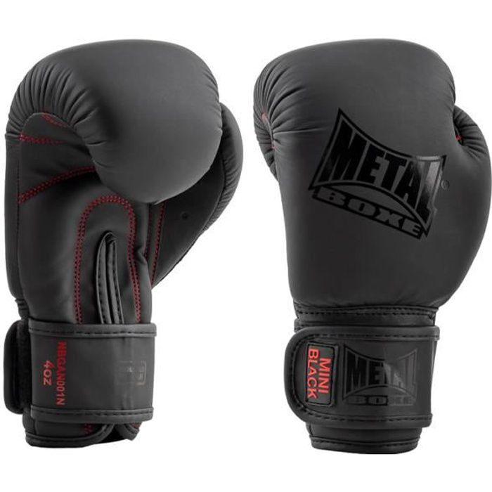Metal Boxe - Gants de boxe enfants, Mini Black - MBGAN001N, Metal Boxe