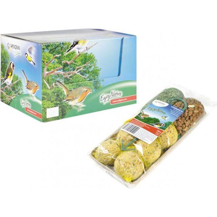 Mix filet et boules de graise pour oiseaux- 8 piéces total 890 g.-Vadigran 5,000000