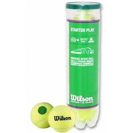 Wilson Tube De 4 Balles Starter Play