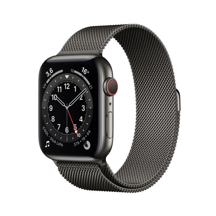 Photo de apple-watch-series-6-44mm-boitier-acier-graphite