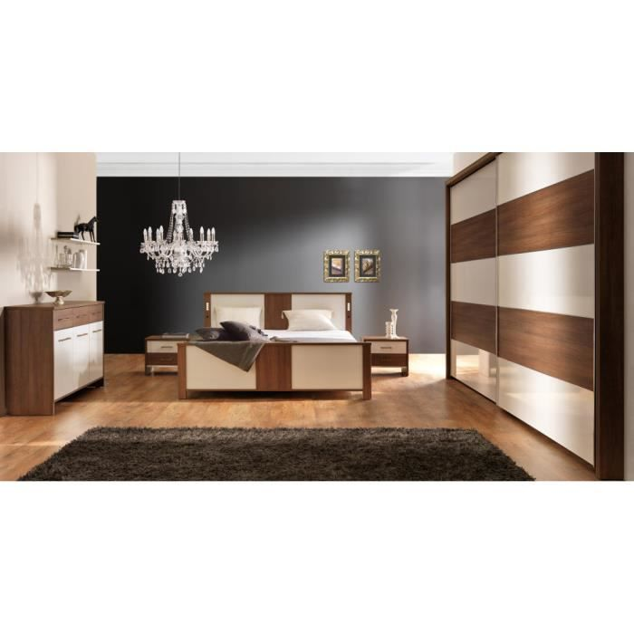 Chambre a coucher complete luxe cecile achat vente for Achat chambre a coucher complete