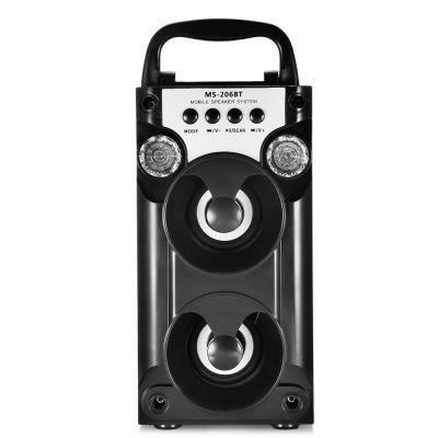 ENCEINTE NOMADE Enceinte Bluetooth  Radio carte SD LED HOMTEMCHFRA