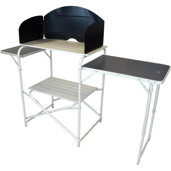 Meuble de cuisine avec table pliante int gr e highlander for Meuble table integree