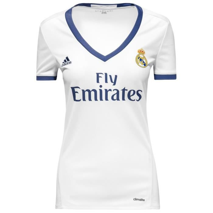 maillot de foot real madrid femme 2016 2017 prix pas cher cdiscount. Black Bedroom Furniture Sets. Home Design Ideas