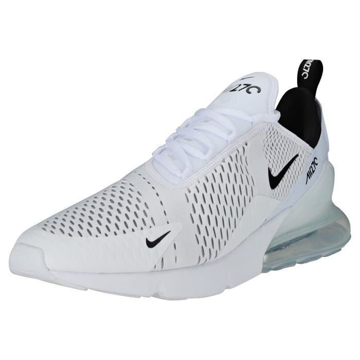 grossiste 43ee6 4b61e Nike Air Max 270 Homme Baskets Blanc Noir
