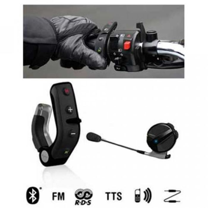 kit mains libres bluetooth pour scooters et motos achat kit pi ton pas cher avis et meilleur. Black Bedroom Furniture Sets. Home Design Ideas