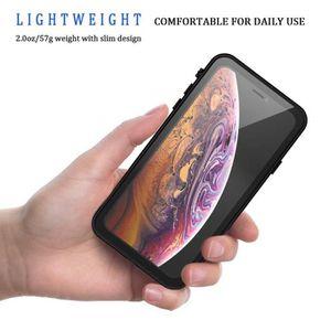 Protecteur d/écran int/égr/é Full Body Protection Antichoc Antipoussi/ère Anti-Neige Housse avec Support Etui pour iPhone 11 Pro 5.8-Violet EUDTH iPhone 11 Pro Coque /Étanche, IP68 Imperm/éable