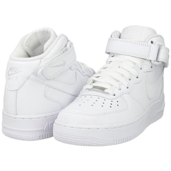Baskets Nike Air Force 1 Mid ´07 montantes blanches 366731-100 ...