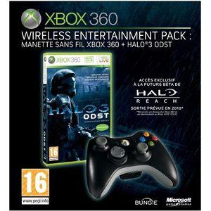 JEUX XBOX 360 Wireless Entertainement Pack Halo 3 Odst XBOX 360