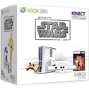CONSOLE XBOX 360 CONSOLE X360 320 GO + KINECT + STAR WARS KINECT