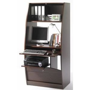 armoire informatique galb e largeur 80 cm achat vente. Black Bedroom Furniture Sets. Home Design Ideas