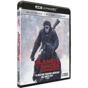 BLU-RAY FILM la planete des singes suprematie blu ray 4k ultra