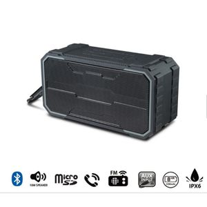 ENCEINTE NOMADE Enceinte bluetooth portable 10W IPX6 étanche sans