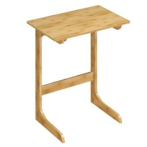 YATA HOME See the difference Table Basse Appoint Bout Canap/é Chevet Meuble t/él/é TV avec Rangement m/élamin/é d/écor Brillante Blanc et 4 roulettes pour Salon Chambre